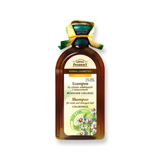 Σαμπουάν CHAMOMILE (350 ml) για αδύναμα και κατεστραμμένα μαλλιά