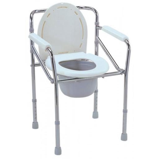 Κάθισμα Τουαλέτας Πτυσσόμενη Σταθερή
