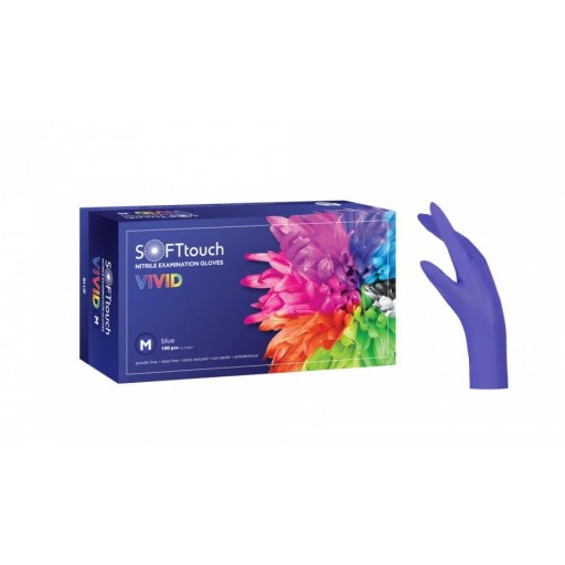 VIVID μπλε XL 100τεμ